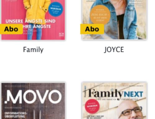 14 Zeitschriften kostenlos – Kläx, Aufatmen, Family…