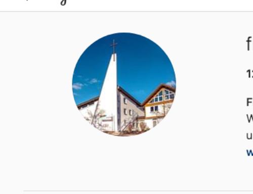 Folge uns auf Instagram und Facebook