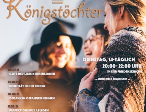 """Neuer Hauskreis """"Königstöchter"""""""